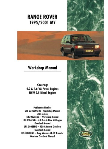 Range Rover  1995/2001 MY Workshop Manual: Covering:, used for sale  Delivered anywhere in UK