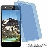 4ProTec 2X Crystal Clear klar Schutzfolie für TP-Link Neffos C5A Bildschirmschutzfolie Displayschutzfolie Schutzhülle Bildschirmschutz Bildschirmfolie Folie