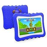 Kinder Tablet, 7 Zoll Beneve Bilige Tablet PC 1G RAM+8G ROM Android 5.1 Quad Core 1.2 GHz mit Silikonhülle für Kids mit Spezialangebot