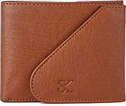Styler King Men Tan Artificial Leather Wallet��(6 Card Slots)