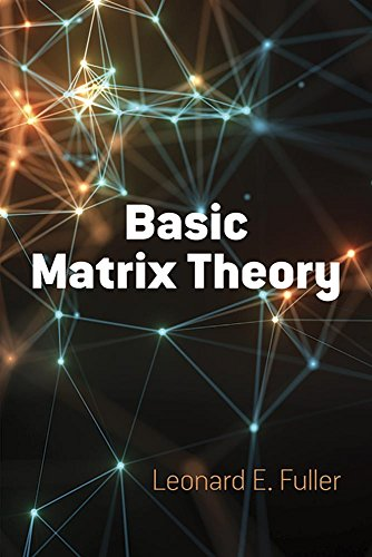 Basic Matrix Theory (Dover Books on Mathematics)