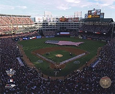 Rangers Ballpark in Arlington Game Three of the 2010 World Series Photo Print (40.64 x 50.80 cm)