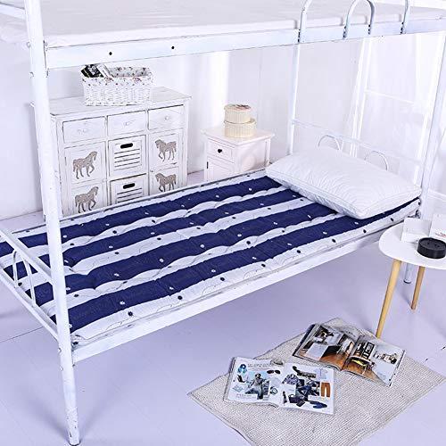 EEvER Schlafmatte Bequeme Matratze Tragbare Schlafmatratze, japanische Futon-Tatami-Fußmatte zum Schlafen, Premium-Matratzenauflage-hypoallergen - Hellblau 90x200cm (35x79 Zoll) - Premium-futon-matratze