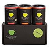 Green Cup Coffee Espresso Probierset - sortenreine