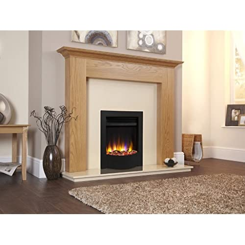 51%2BK9wIbYtL. SS500  - Designer Celsi Electric Fire- Ultiflame VR Endura Black