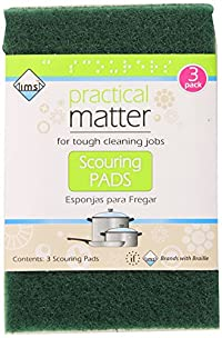 IMS Trading Scouring Pads, 3 Count