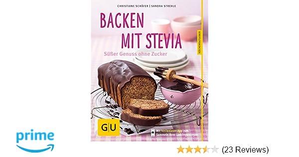 Backrezepte mit stevia pulver