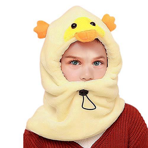 VAMEI Passamontagna Cappello Antivento per Bambini Inverno Caldo Spesso Sci  Termico Maschera per Il Viso Regolabile 94cceff1f42b