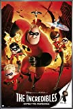 The Incredibles Poster Expect The Incredible (93x62 cm) gerahmt in: Rahmen anthrazit metallic