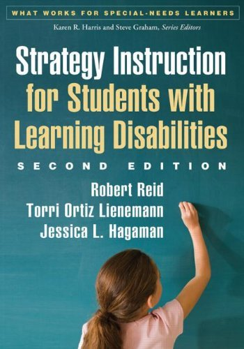 Strategy Instruction for Students with Learning Disabilities (What Works for Special-needs Learners) by Robert Reid (2013-10-29)