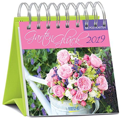 GartenGlück (PK-Wo) 235719 2019: aufstellbarer Wochen-Postkartenkalender