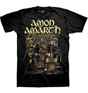 Amon Amarth - Thor Oden´s (T-Shirt Schwarz) Amon Amarth Shirt Rare Print !! (XL()Extra Large)