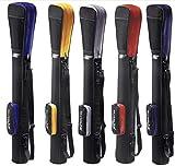 Golftasche - Pencilbag - Reisebag - Rangebag - Pistolbag - Tragebag mit integrierter Schutzhaube und Außentasche | für bis zu 8 Schläger | 1 Pack Killagolf©-Tees Free