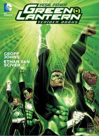 Green Lantern Yesil Fener Yeniden Dogus Cilt 1