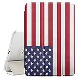 STPlus USA amerikanische Flagge Smartcover Schutzhülle Schutz Hülle Case mit Standfunktion / Sleep / Wake up für Apple iPad Pro (10.5
