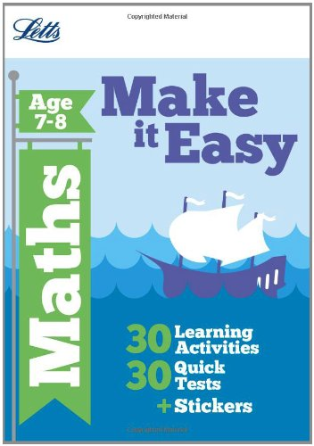 Maths Age 7-8 (Letts Make It Easy Complete Editions)