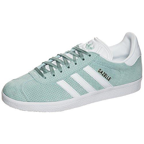 Branco verde Adidas Calçado Metálico Ouro Grün Damen Tátil Sneakers Gazela qFnwZU0I
