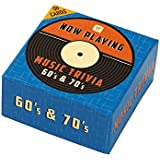 """Talking Tables """"Now Playing 60s and 70s"""" Trivia Box"""