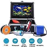 TIANG Buscador Portátil de la Pesca del buscador de la Pesca/LCD HD 7 con el Cable de los 30m/los 100ft/la Cámara subacuática de la Pesca del Hielo
