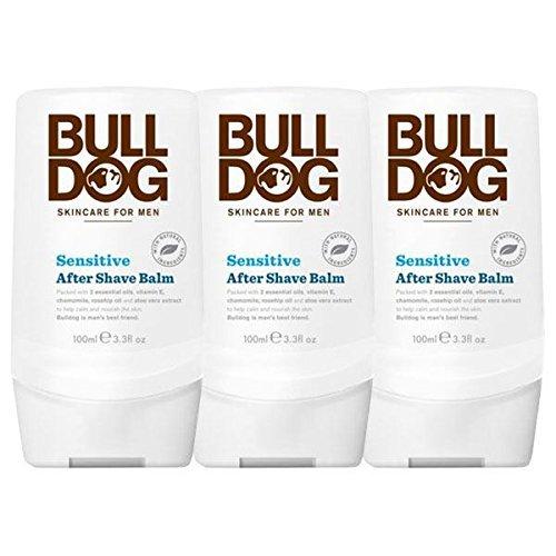 Bulldog Sensitive After Shave Balm 100ml-3Stück -