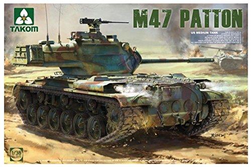 TAKOM Tak de 2070Maqueta de US Medium Tank M47/G 2en 1