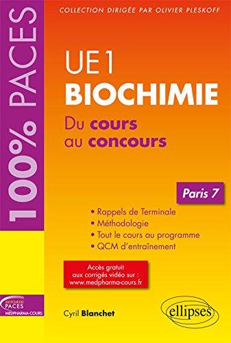UE1 - Biochimie (Paris 7)