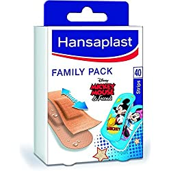 Hansaplast Set de 40 Pansements Family Pack
