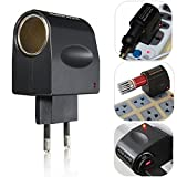 #6: Classico New Stylish Best Price 220V AC to 12V DC Car Cigarette Lighter Wall Power Socket Plug Adapter Converter EU US Super Quality
