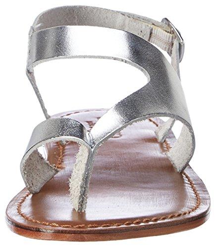 Inuovo Damen 7724 Zehentrenner Silber (Silver)