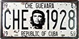 Che Guevara Republic of Cuba, Auto Kennzeichenbeleuchtung, Geprägt, Weinlese Wandverzierung