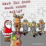 Gilde Weihnachtsservietten Servietten Ward ihr denn auch schön artig?