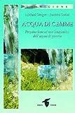 Acqua di gemme. Preparazione ad uso terapeutico dell'acqua di gemme