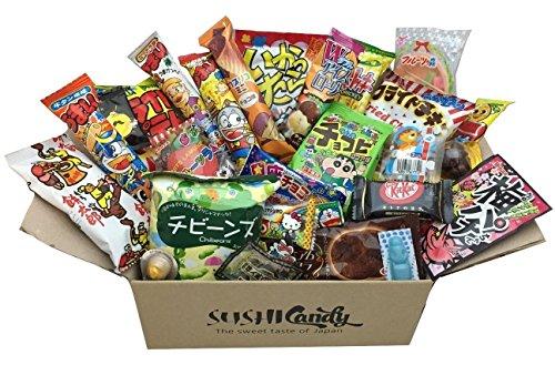 30 assortiments de confiseries bonbons japonais délicieuse du Japon cadeaux DAGASHI FEVRIER set japanese candy chips