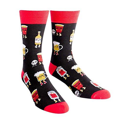 Sock-It-To-Me-Mens-Crew-Socks-Beer-Pong