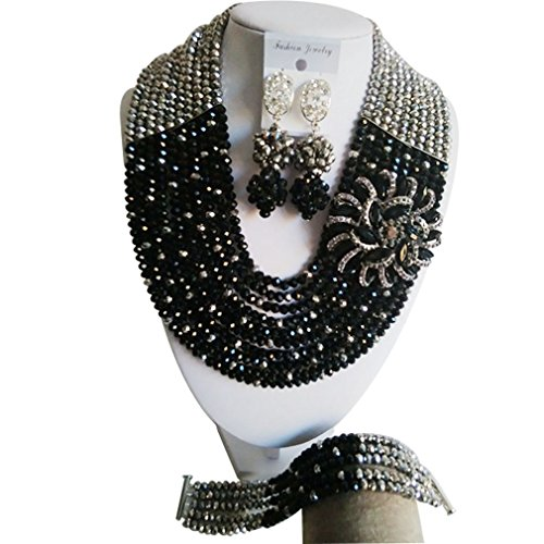 laanc-10-layers-black-and-silver-crystal-nigerian-wedding-18-inch-african-wedding-party-jewellery-se