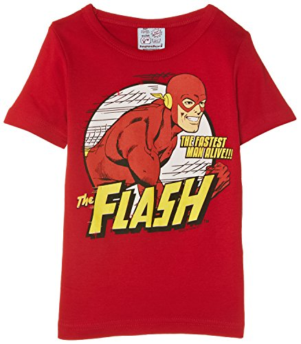 ruckt T-Shirt Gr. 4 Jahr, Rot - Rouge (Animal Red) (Superhelden Kinder Kostüme Uk)