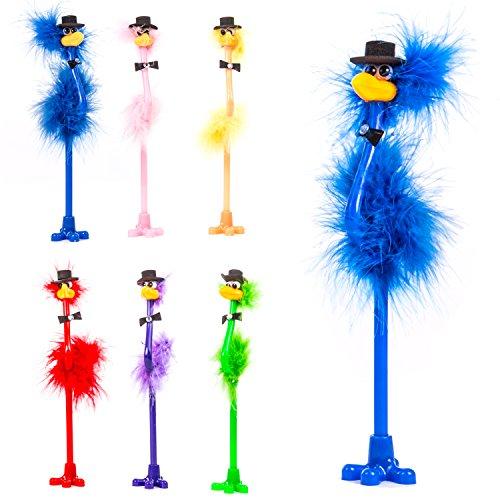 chig Emu Neuheit Top Hat Bird Pen ()