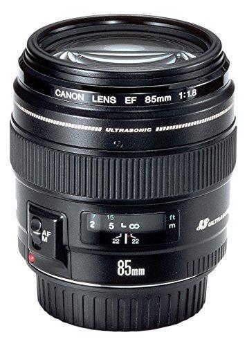Canon EF 85mm f/1,8 USM Obiettivo(Ricondizionato Certificato)