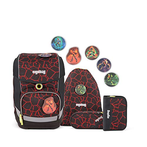 d0932986bf Ergobag School Backpack Set (Set of 5) Cubo Materiale sintetico 19 I
