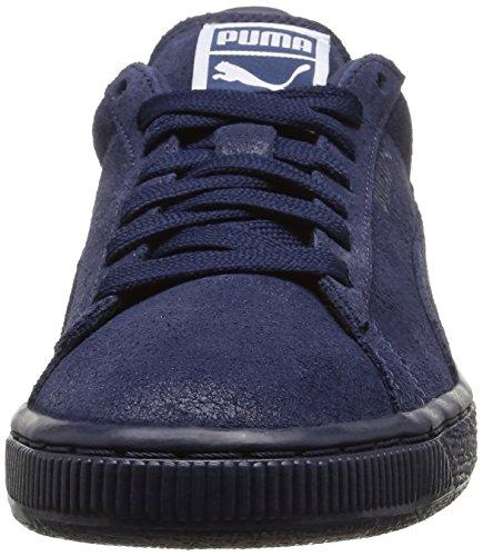 Puma Classic, Damen Sneakers Blau (peacoat/peacoat)