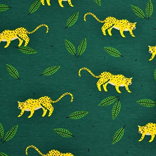 Bio-leopard (MAGAM-Stoffe Jungle Vibes Jersey Kinder Stoff Oeko-Tex Meterware 50cm (3. Leopard))