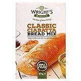 Wrights Ciabatta Brot Backmischung 500g