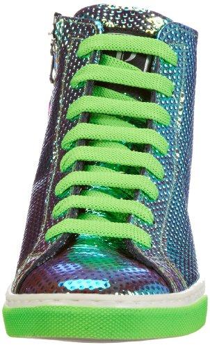 P1 220, Baskets mode femme Vert (Met Green)