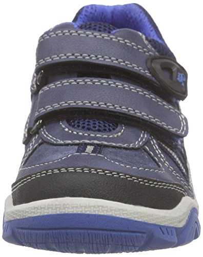 Lurchi - Travis Ii, Scarpe da ginnastica Bambino Blu (Blu (navy 22))
