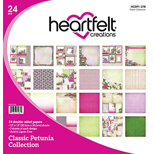 Heartfelt Creations Doppelseitiges Papier Pad, Mehrfarbig, 31,75x 30,48x 0,76cm -
