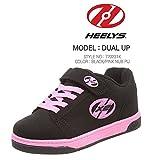 Heelys Unisex-Kinder Dual Up Sneaker, Schwarz Black/Pink, 36.5 EU