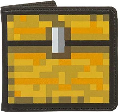 JINX Minecraft Portefeuille Motif coffre