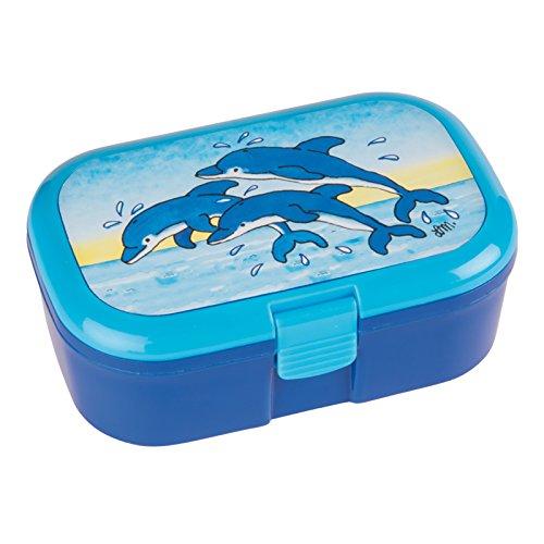 Lutz Mauder 10625Brotbüchse / Frischhaltedose, mit Delfin-Motiven