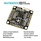 Matek F4 Flight Controller F405-STD (Intergreted Bateflight OSD, BEC 5V, Micro SD card slot, VCP 5xUARTs, 6 PWM / DSHOT Outputs) for FPV Racing RC Drone Quadcopter by LITEBEE