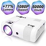DR.Q L8 Beamer, Mini Projektor, 3600 Lux Videobeamer Unterstützt...